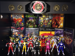 Power Rangers Toy Collection 000 by AnutDraws