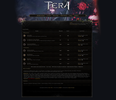 Tera Online Forum phpBB by Sanjo-Design