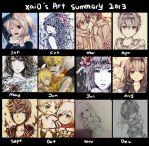 Xai0's Art Summary 2013 by Xai0