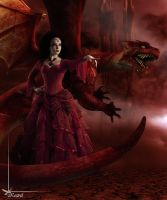 Mistress of the Red Dragon by Kestrel01