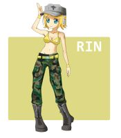 Military Rin by Rinine