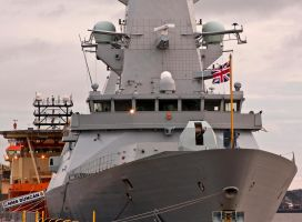 HMS Duncan Destroyer I by DundeePhotographics