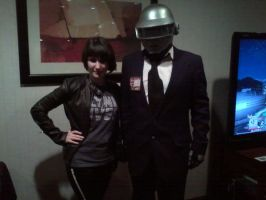 PortCon 2012: Quorra and Daft Punk by Willowwolf23