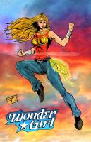 284 Wonder Girl (Cassie) by bielero
