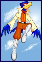 High Flying Falco, finished by fluffy-sama