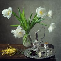 From the series with white tulips by Daykiney