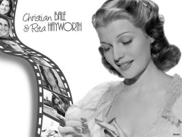Christian Bale - Rita Hayworth by dinatzv