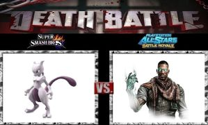 Death Battle Mewtwo vs Emmett by Werewolf-Hero