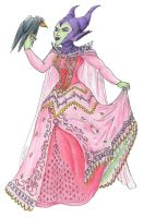 Maleficent in Princess Bling by RogueDragon