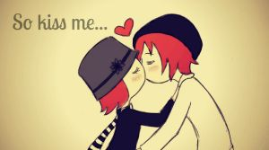 kiss me... by fanybunny