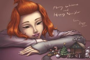 On this Christmas Night by ioxygen