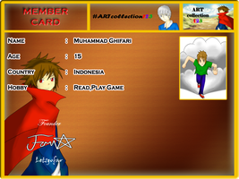 My member card by LetsGoFar
