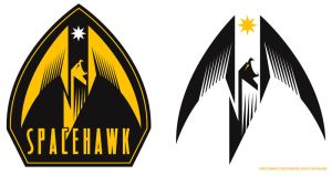 SpaceHawk Logos by PaulSizer