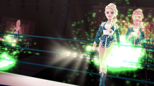 [MMD] Sports Entertainment Elsa by MrWhitefolks
