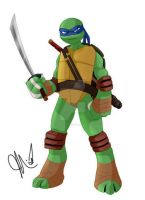 Leonardo by Inked-Alpha