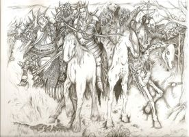 The Four Horsemen by GraphiteKnight