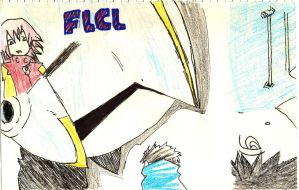 FLCL Comic Montage by ams719