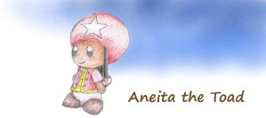 Aneita the Toad by MiniDragonfly