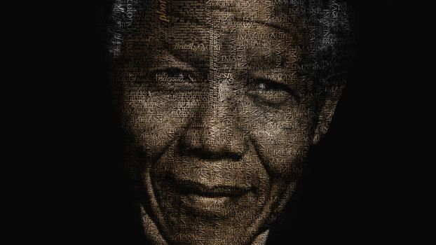 Nelson Mandela by acg3fly