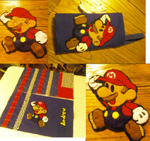 Mario DS case by ArtsyLady