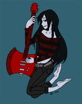 Marceline wip by StrigineSensibility