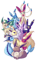 Eeveelution by OnixTymime
