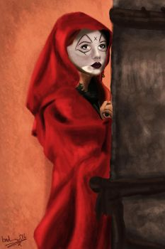 The Fires of Pompeii, Soothsayer by bad---w0lf
