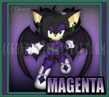 CM: Magenta Chara Card by CCgonzo12