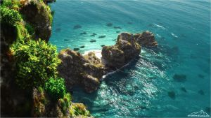 Beautiful Turquoise by 3DLandscapeArtist