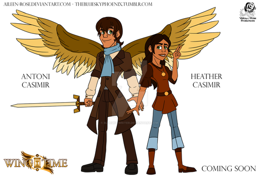 WT: Antoni and Heather Casimir by BlueSky-Writer