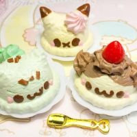 Pokemon ice cream scoops by SprinkleChick