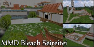 MMD Bleach Seireitei Stage DL by SachiShirakawa