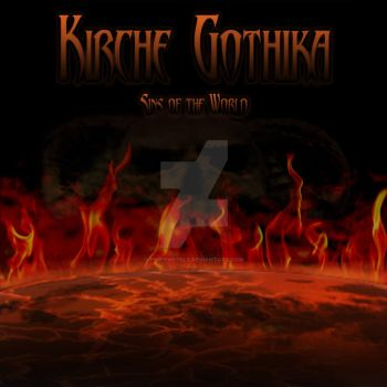 Kirche Gothika - Sins of the World EP (201x) art by PrimeWeekle