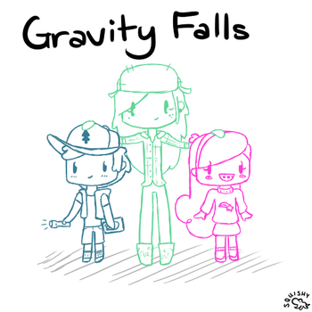 Gravity Falls by Squigily15