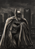 Batman by Ponyraptor