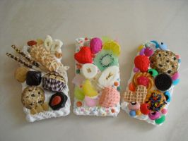 Sweet Deco I-phone Cases by kawaiifriendscafe