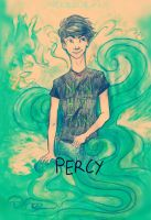 Percy Jackson YUS by MerriDraws