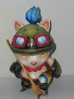 Teemo League of legends by zhefiroth
