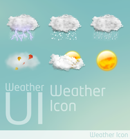 Weather UI Icon by wangbin99