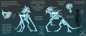 CONCEPT ART: Crystal Wraith by Sketch-SF