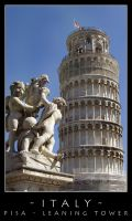 Pisa - Leaning Tower by dark-spider