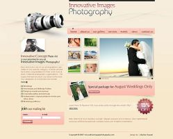 photography site-wedding theme by cr8iv