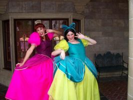 Anastasia and Drizella by BellesAngel