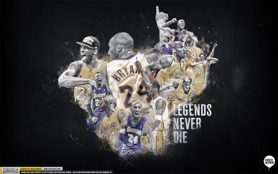 Kobe Bryant Legend Wallpaper by IshaanMishra