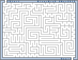 Excel Maze by RiverKpocc