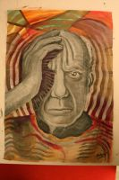 Pablo Picasso by CaptainBoss
