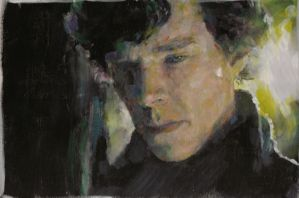 Sad Sherlock (3) by ApeSpacer
