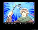 The russian way to solve problems ! by yunira-chan