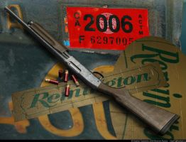 5 Remington  870 shotgun by VladiT