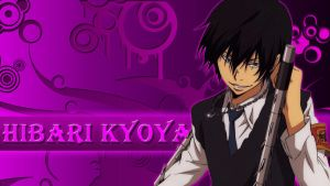 Hibari Kyoya Wallpaper by NenshoOkami